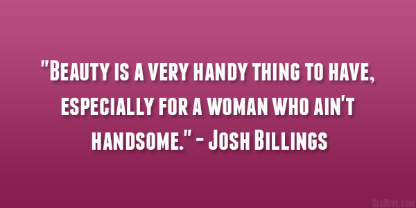Josh Billings Quote