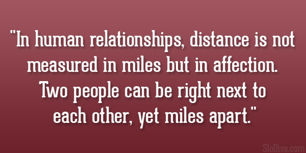 60 Affectionate Quotes About Long Distance Relationships Inspiration Quotes About Affection