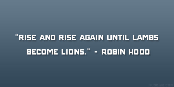Robin Hood Quote