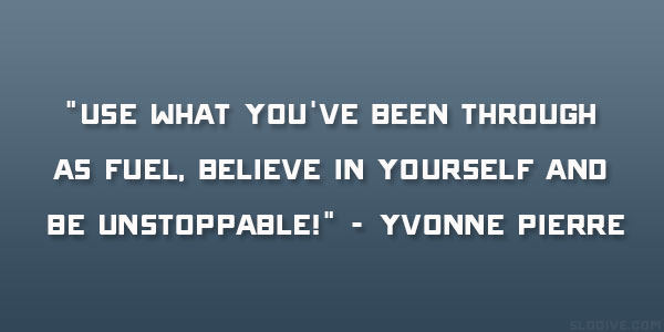 Yvonne Pierre Quote