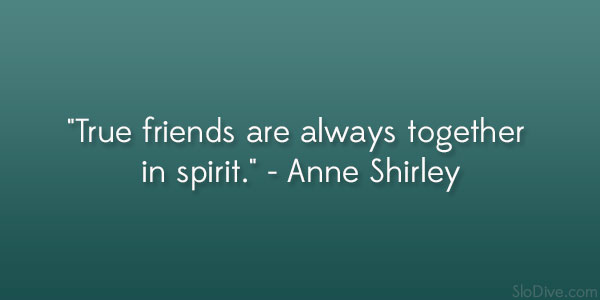 Anne Shirley Quote