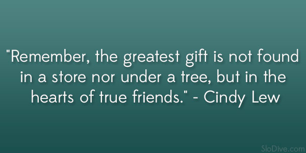 Cindy Lew Quote