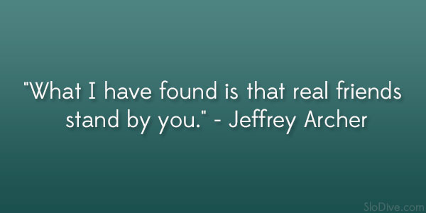 Jeffrey Archer Quote