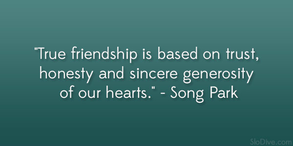 Quotes About Honesty In Friendship Simple 32 Sensible Quotes About True Friends