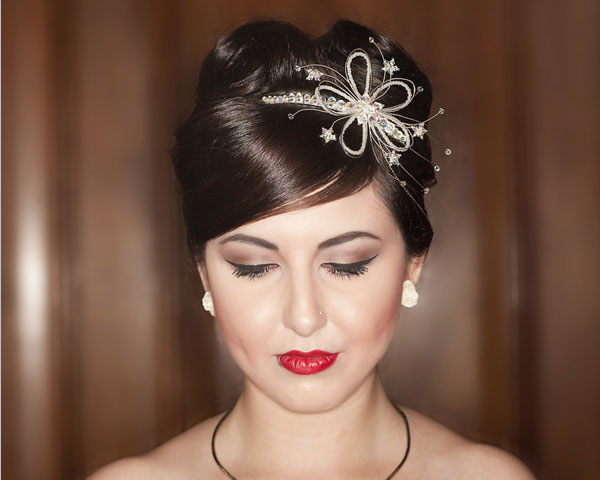vintage bridal 31 Lovely Wedding Hairstyles Updos