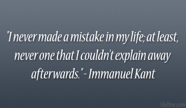 Immanuel Kant Quote
