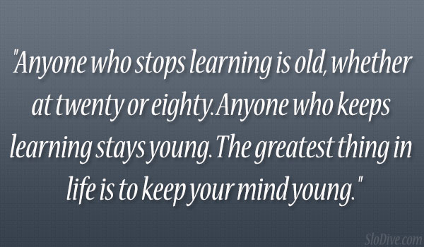 Stops Learning