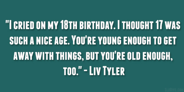Quotes 18Th Birthday New 26 Poetic 18Th Birthday Quotes