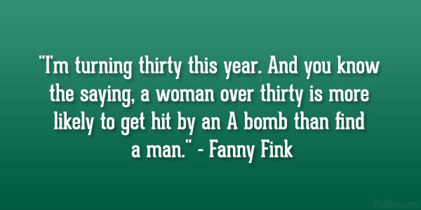 Fanny Fink Quote