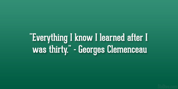 Georges Clemenceau Quote