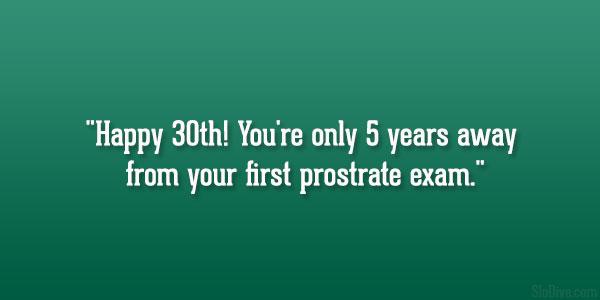 Prostrate Exam