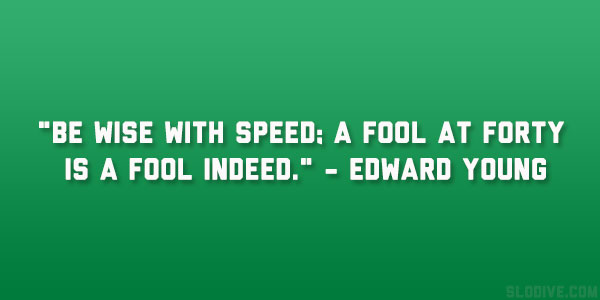 Edward Young Quote