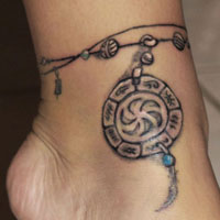 26 Innovative Ankle Tattoos For 2013