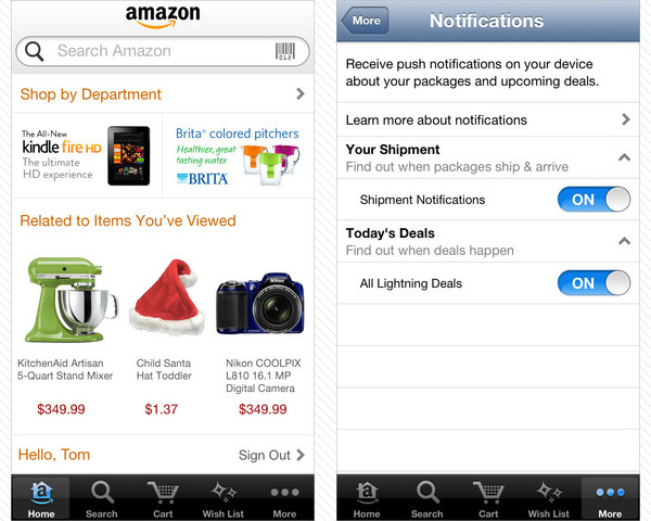 amazon mobile 33 Best Free Apps For iPhone You Should Install Right Now