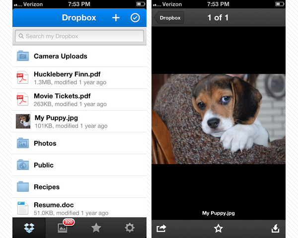 dropbox 33 Best Free Apps For iPhone You Should Install Right Now