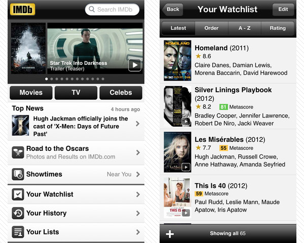 imdb movies 33 Best Free Apps For iPhone You Should Install Right Now