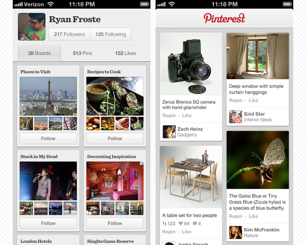pinterest 33 Best Free Apps For iPhone You Should Install Right Now