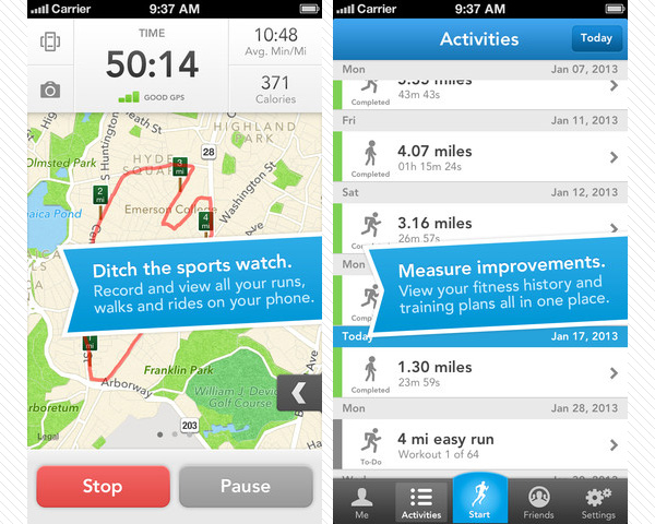 runkeeper 33 Best Free Apps For iPhone You Should Install Right Now