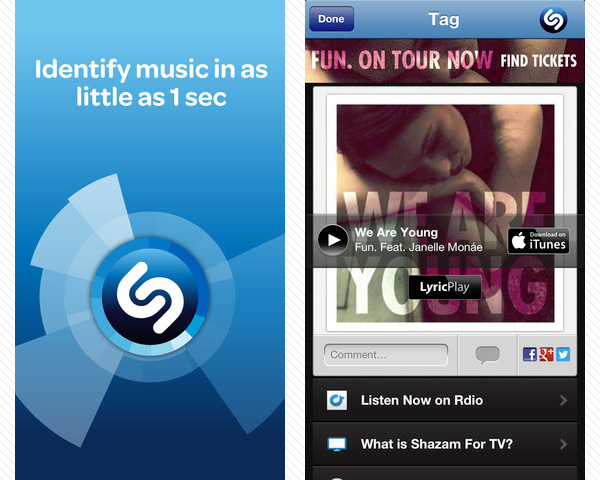 shazam 33 Best Free Apps For iPhone You Should Install Right Now