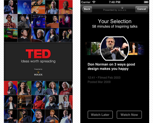 ted conferences 33 Best Free Apps For iPhone You Should Install Right Now