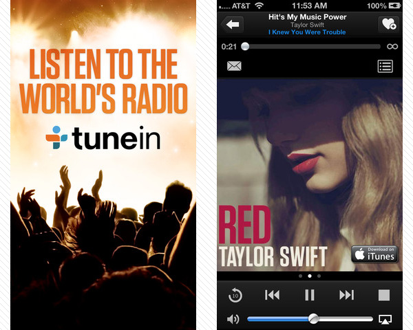 tunein radio 33 Best Free Apps For iPhone You Should Install Right Now