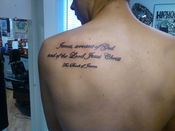 jesus 26 Poetic Bible Verse Tattoos For 2013