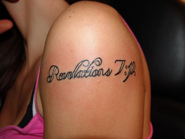 starlite 26 Poetic Bible Verse Tattoos For 2013