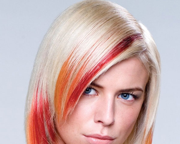 28 styles for blonde hair with red highlights for 2013 red fall highlights idea pmusecretfo Gallery