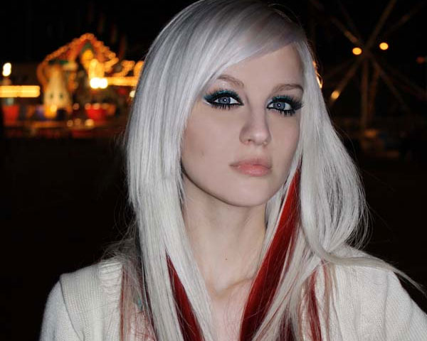 28 styles for blonde hair with red highlights for 2013 dramatic red combination pmusecretfo Images
