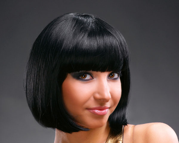Women with Black Bob Hairstyles