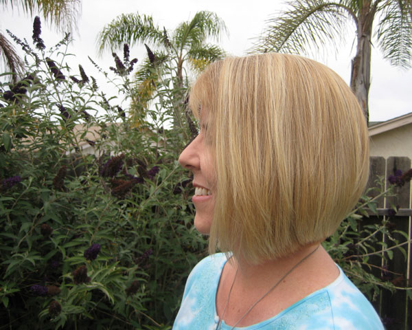 Square Bottom Bob Hairstyle