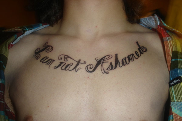 Side Chest Tattoo Quotes
