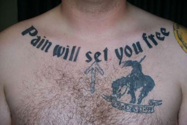 Chest Tattoo Qoutes 28 Intriguing Collections Browse Design Press