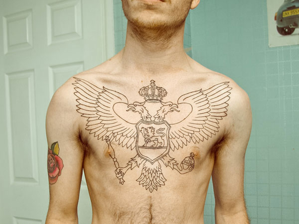 outline 37 Exceptional Chest Tattoos For Men