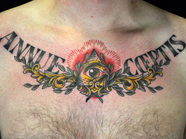 triangle 37 Exceptional Chest Tattoos For Men