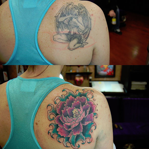 cover up james danger 28 Graceful Cover Up Tattoo Ideas