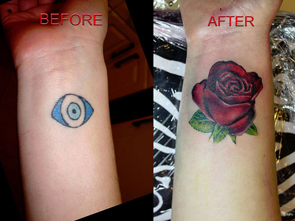 jack mosher tattoo cover up 28 Graceful Cover Up Tattoo Ideas