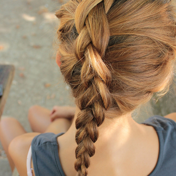 Swell How To French Braid Cute Hairstyles Braids Hairstyles For Men Maxibearus