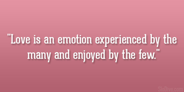 Emotion Experienced