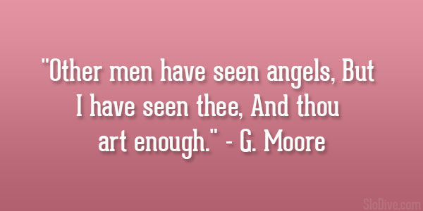 G. Moore Quote