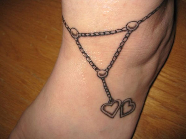 Cute Hearts Anklet