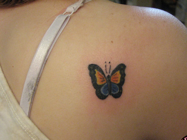 Butterfly On My Shoulder