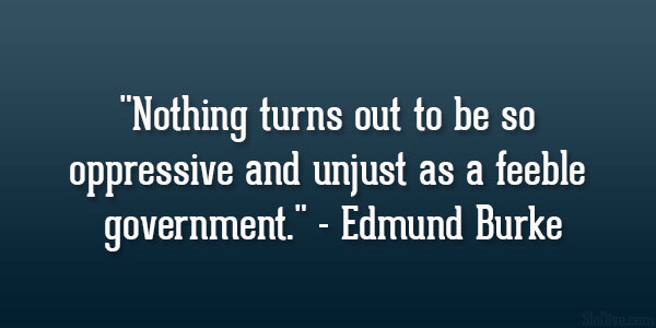 Feeble Government