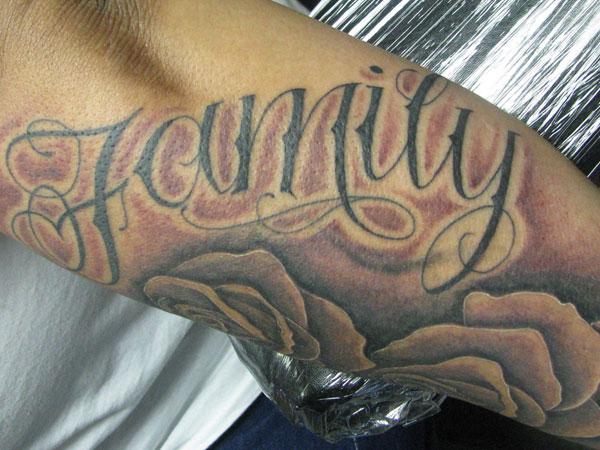 Sleeve Family Tattoo