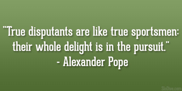 Alexander Pope Quote