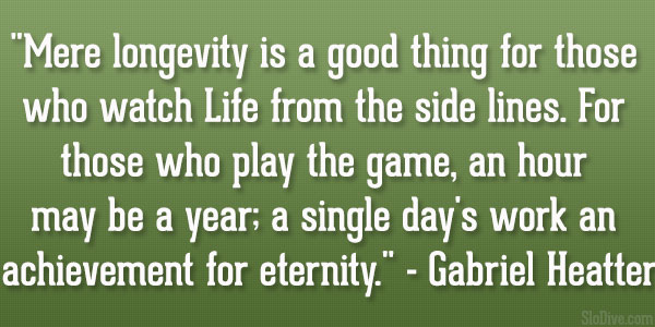 gabriel heatter quote 31 Affectionate Famous Sports Quotes