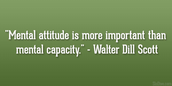 Walter Dill Scott Quote