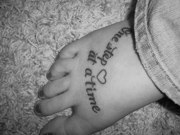 new foot tattoos 25 Refined Foot Tattoos Quotes