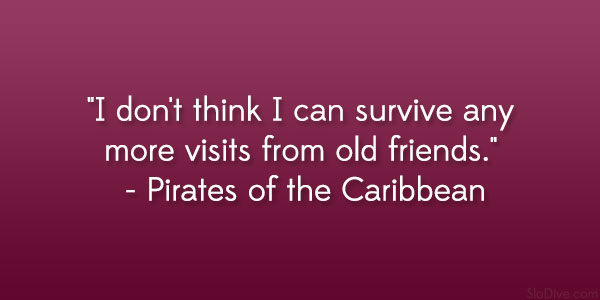 Pirates Of The Caribbean Quote