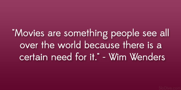 Wim Wenders Quote